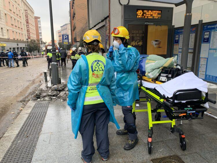 Фото: служба по чрезвычайным ситуациям Мадрида