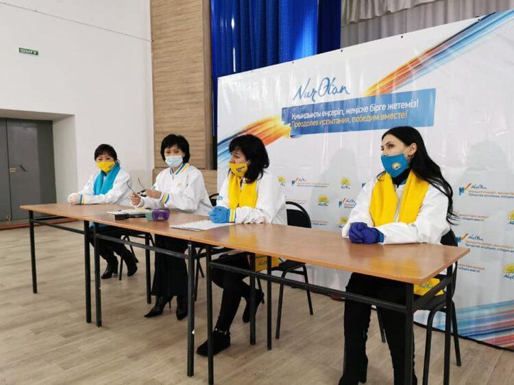 Жители СКО попросили Nur Otan решить проблемы с дорогами 1
