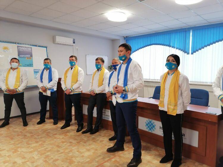 Как прошла встреча кандидатов в депутаты с коллективом ГКП на ПХВ «Кокшетау су арнасы» 1