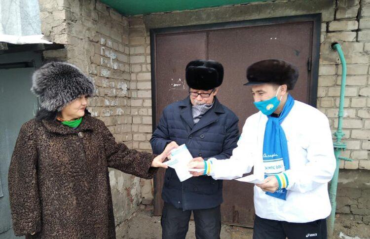 Нуротановцы встретились с жителями СКО 1