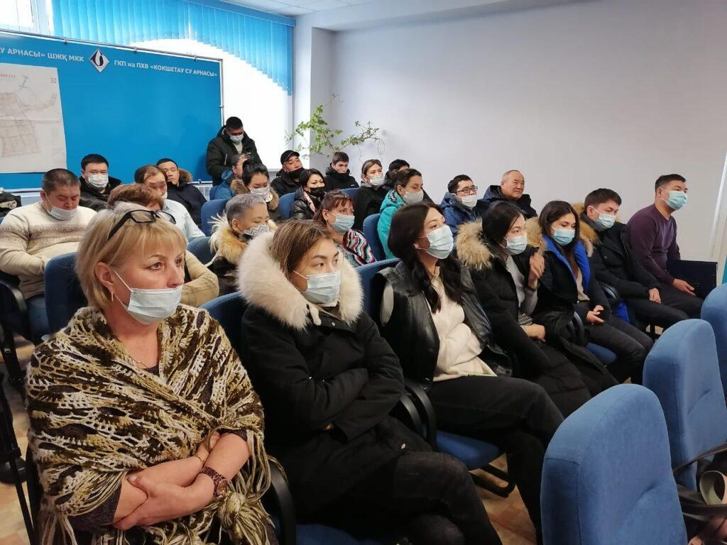 Как прошла встреча кандидатов в депутаты с коллективом ГКП на ПХВ «Кокшетау су арнасы» 2