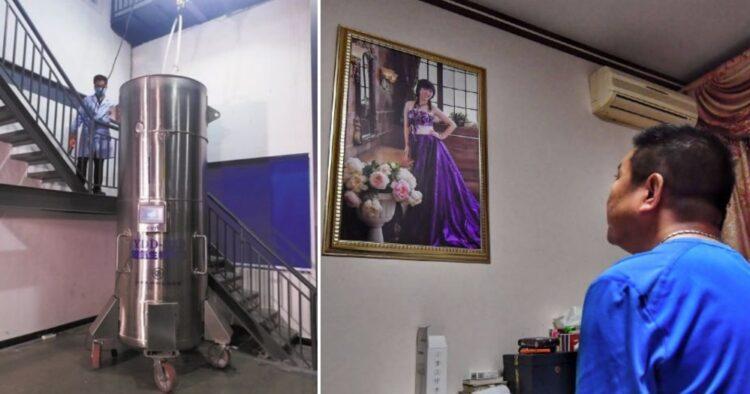 Китаец пытается воскресить умершую жену, заморозив ее тело на 50 лет 1