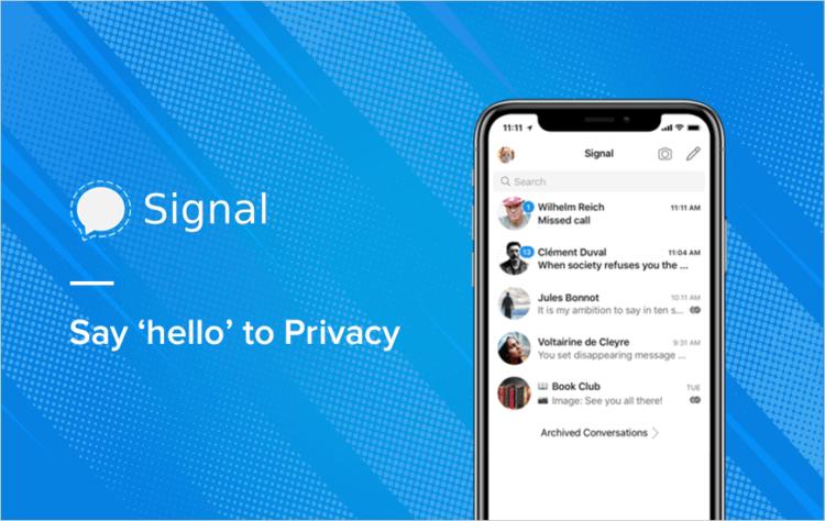 Мессенджер Signal стал популярнее на 4200% после изменения условий WhatsApp 1