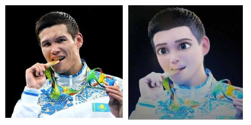 Головкин, Алтынбекова, Куат: казахстанские спортсмены в виде мультяшных героев
