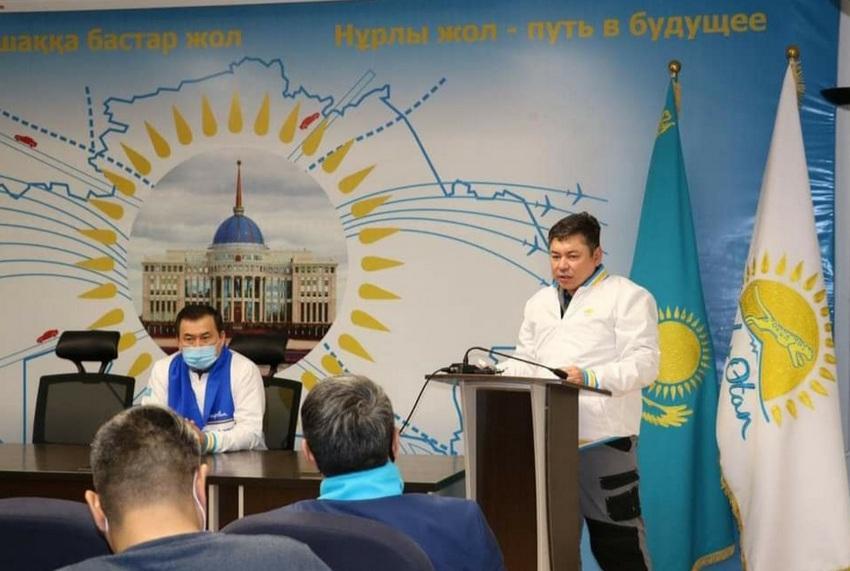 Кандидат в депутаты от Nur Otan уверен, что коллектив Атырауского НПЗ сделает правильный выбор 10 января 1