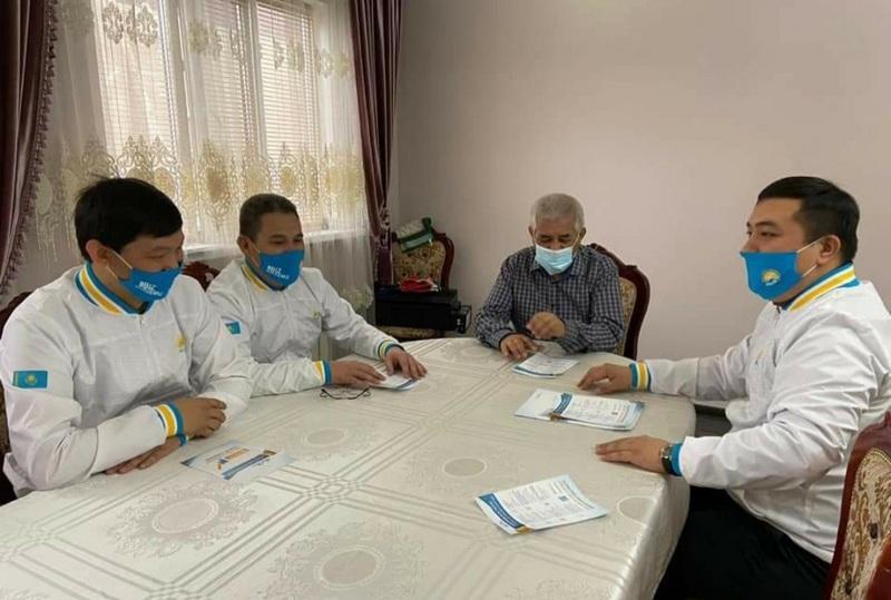 Выборы-2021: ветераны в Атырау поделились с нуротановцами бесценным опытом 1