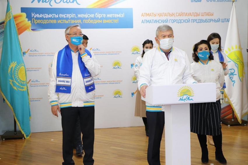 Более 20 тысяч встреч с населением перед выборами провели нуротановцы в Алматы 1