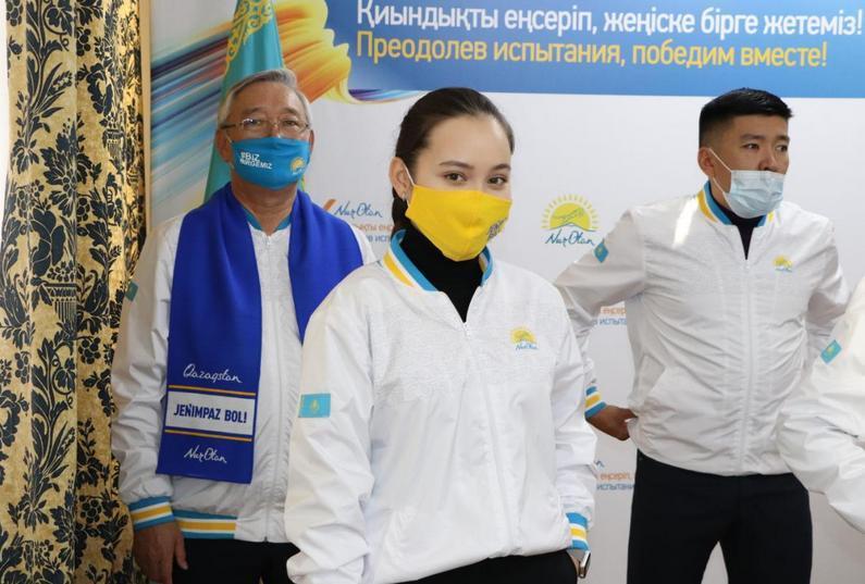 Более 20 тысяч встреч с населением перед выборами провели нуротановцы в Алматы 2