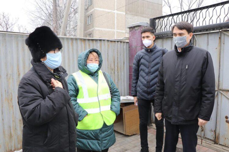 Нуротановцы устранили проблему с водоснабжением жителей улицы Павлодарской в тандеме с коммунальщиками 1