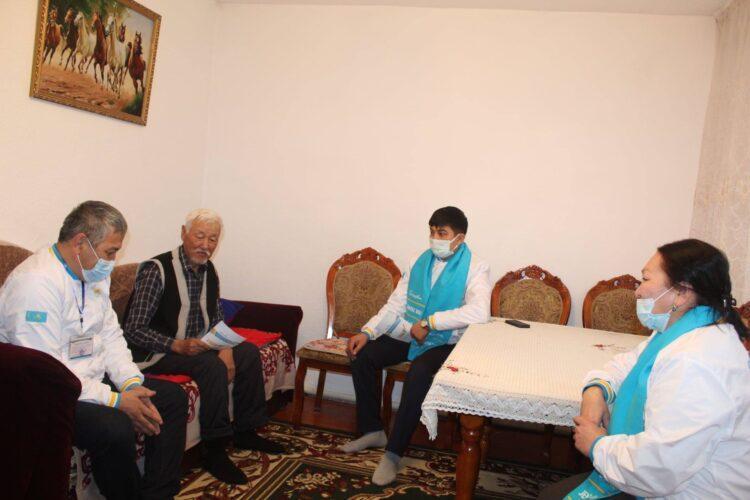 Nur Otan будет укреплять инфраструктуры здравоохранения в Алматинской области 1