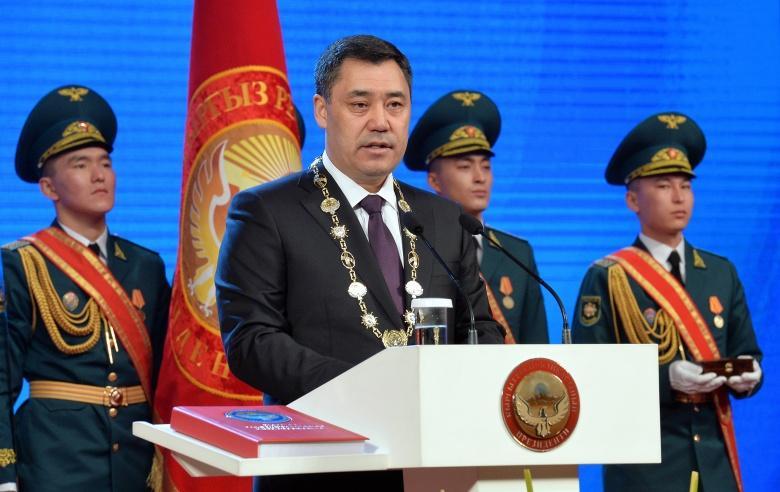 Казахстанец оказался двойником президента Кыргызстана 1
