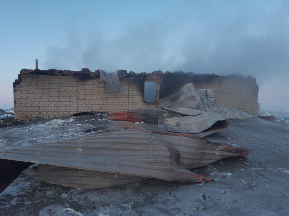 Ребенок погиб из-за взрыва газового баллона в Актюбинской области 1