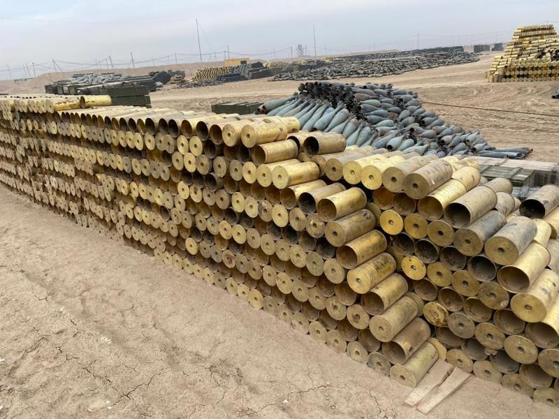 Утилизированные боеприпасы из Арыси выставили на торги 2
