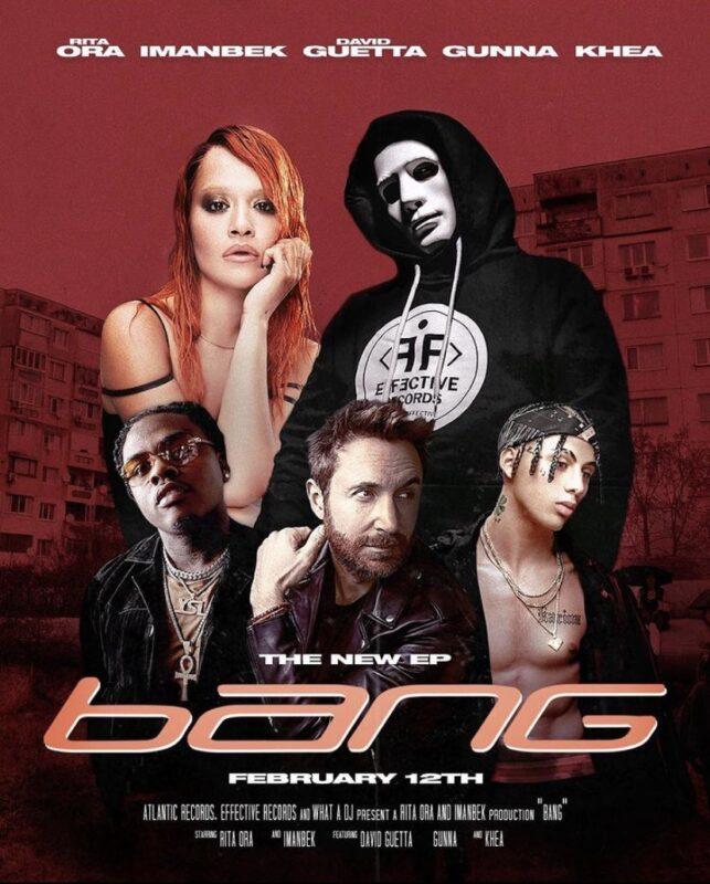 Иманбек выпустит мини-альбом с Rita Ora и David Guetta 1