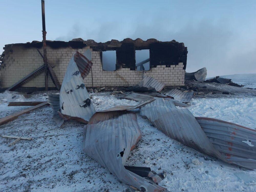 Ребенок погиб из-за взрыва газового баллона в Актюбинской области 3