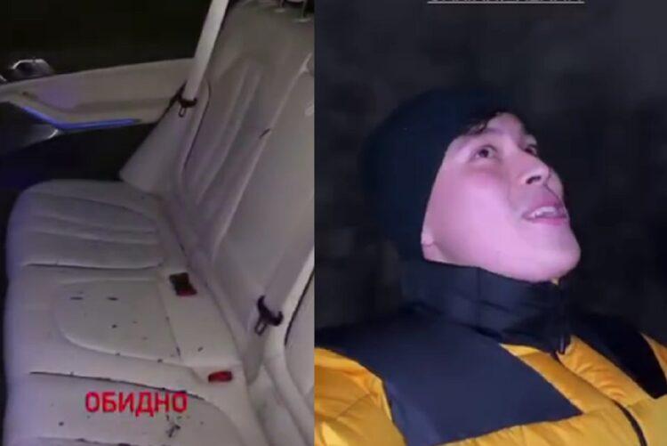 В Алматы воры разбили стекло автомобиля известного блогера и вытащили оттуда сумку 1