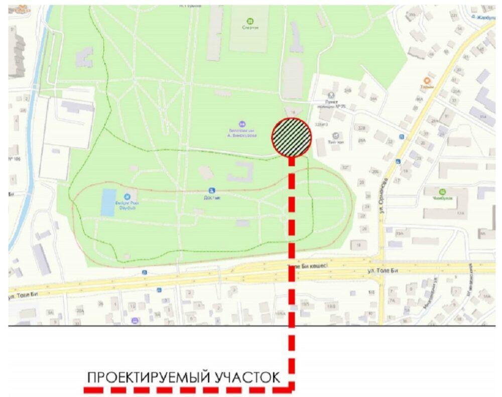 В Алматы в парке имени Горького планируют построить общежитие 1