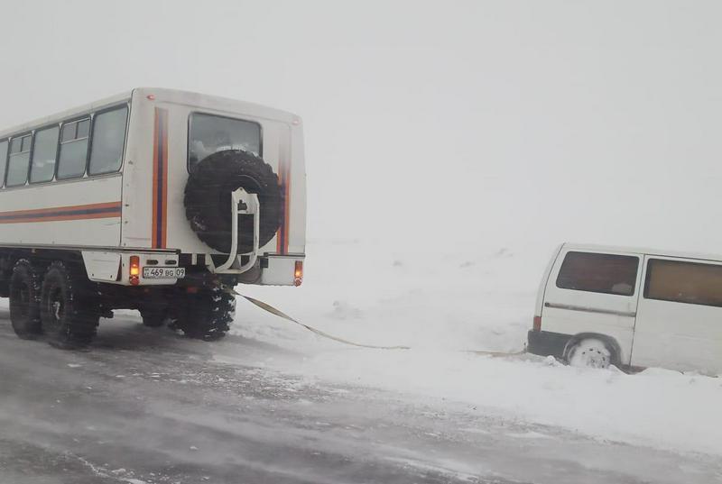 В условиях непогоды в Карагандинской области произошло 18 ДТП 1