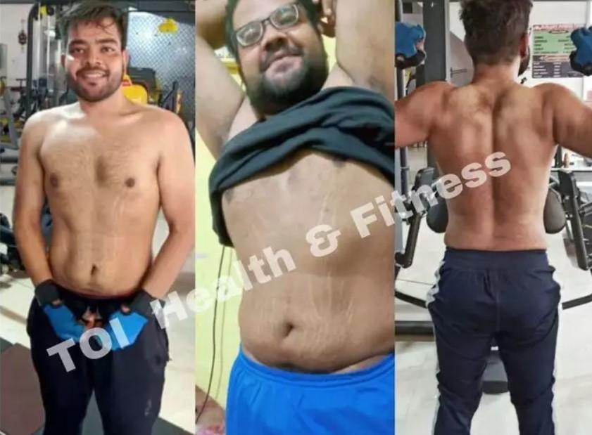 Парень скинул 40 килограммов во время карантина и поделился секретом похудения 1