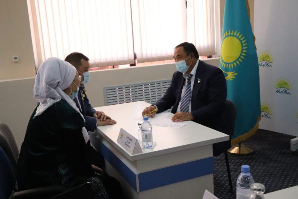 Нуротановцы встречаются с жителями Туркестанской области и решают их проблемы 1