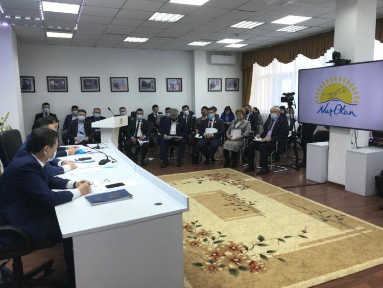 Партийцы Nur Otan Акмолинской области: обеспечим на всех уровнях реализацию своих предвыборных обещаний 1