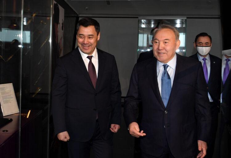 Елбасы отметил высокий уровень сотрудничества и партнерства между Казахстаном и Кыргызстаном 1