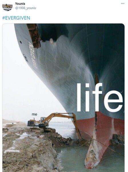 Ship happens: почему все смеются над аварией в Суэцком канале 4