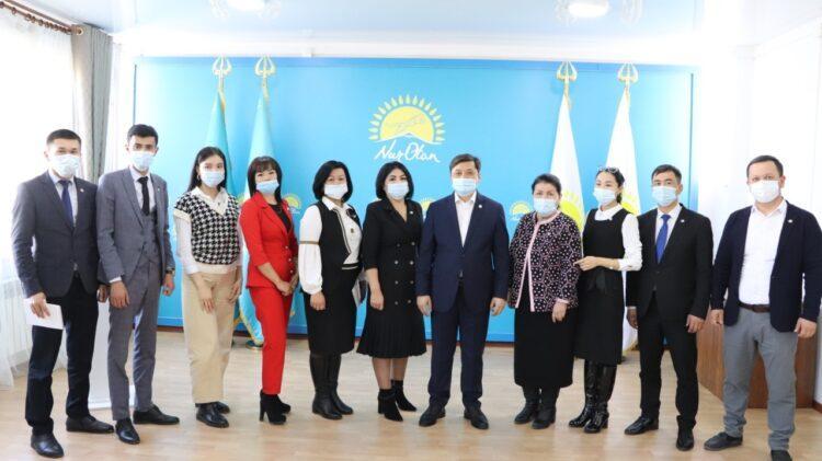 Фото: Пресс-служба Туркестанского областного филиала партии Nur Otan