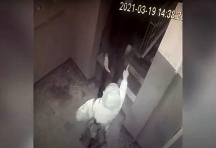 Фото: скриншот с видео камеры наблюдения