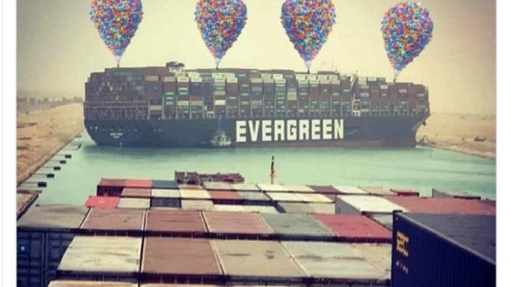 Ship happens: почему все смеются над аварией в Суэцком канале 5
