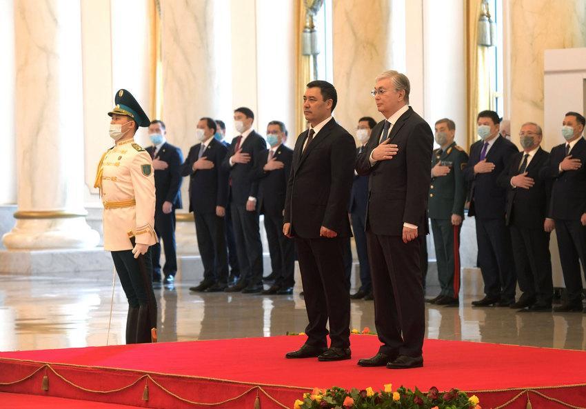 Токаев сказал, что послужит во благо народов Казахстана и Кыргызстана 1