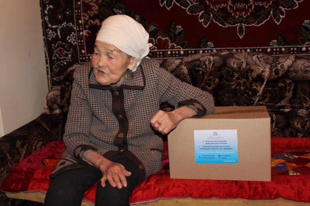 В Темиртау предприятие поддерживает ветеранов и одиноких пенсионеров 1