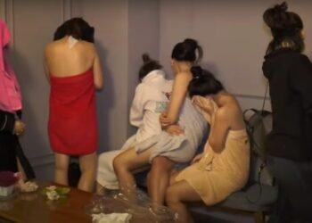 Фото: скриншот с видео полиции Алматы