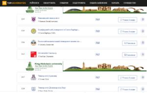 Высокие показатели образовательных программ КазНУ 3