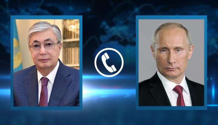 Токаев попросил Путина обеспечить дополнительную поставку вакцины Спутник V 1