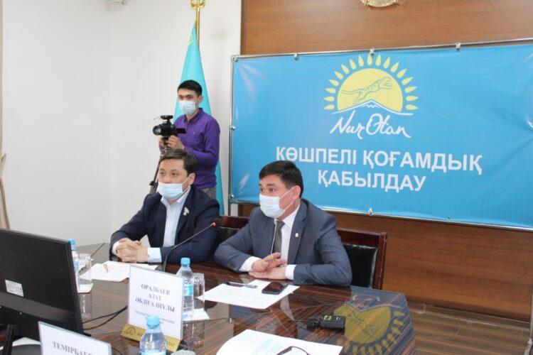 В Ордабасы ответили на волнующие жителей вопросы 1
