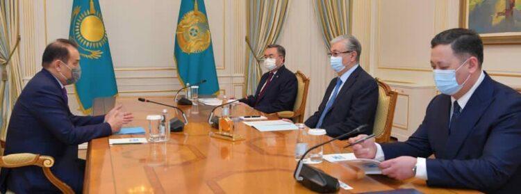Токаеву представили информацию о деятельности Совета сотрудничества тюркоязычных государств 1