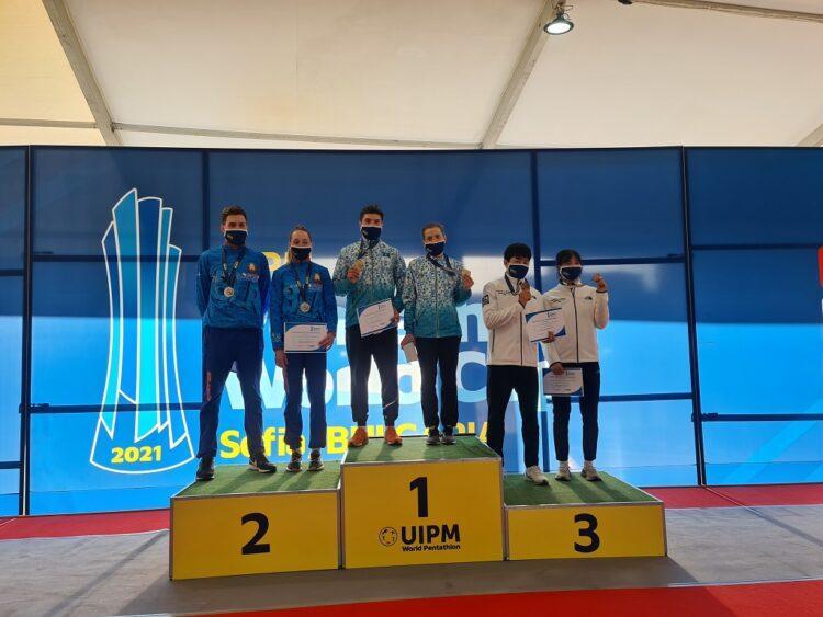 Первое место на этапе Кубка мира у казахстанских пятиборцев 1