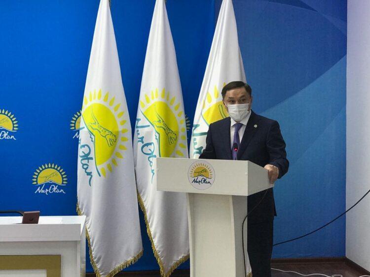 В Кокшетау состоялась отчетно-выборная конференция партии Nur Otan 1