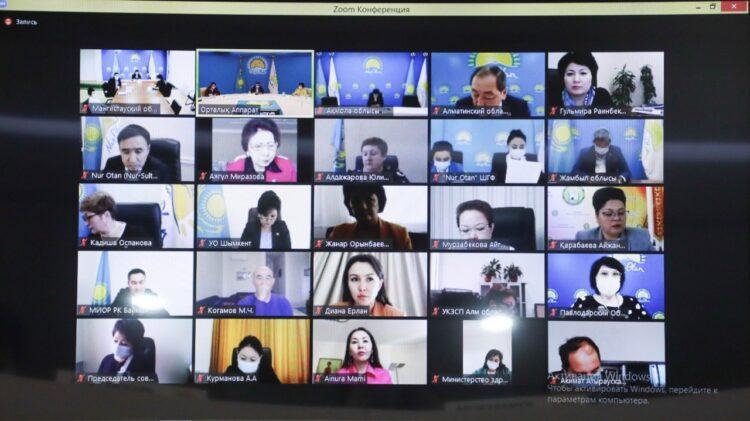 В Nur Otan обсудили вопросы создания центров поддержки семьи в регионах 1