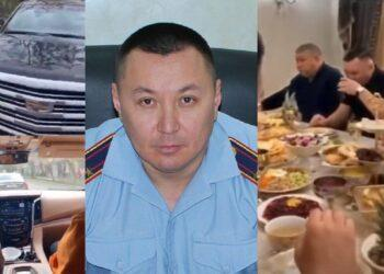 Со скандалом уволенного полицейского назначили начальником РУП в Алматинской области 1