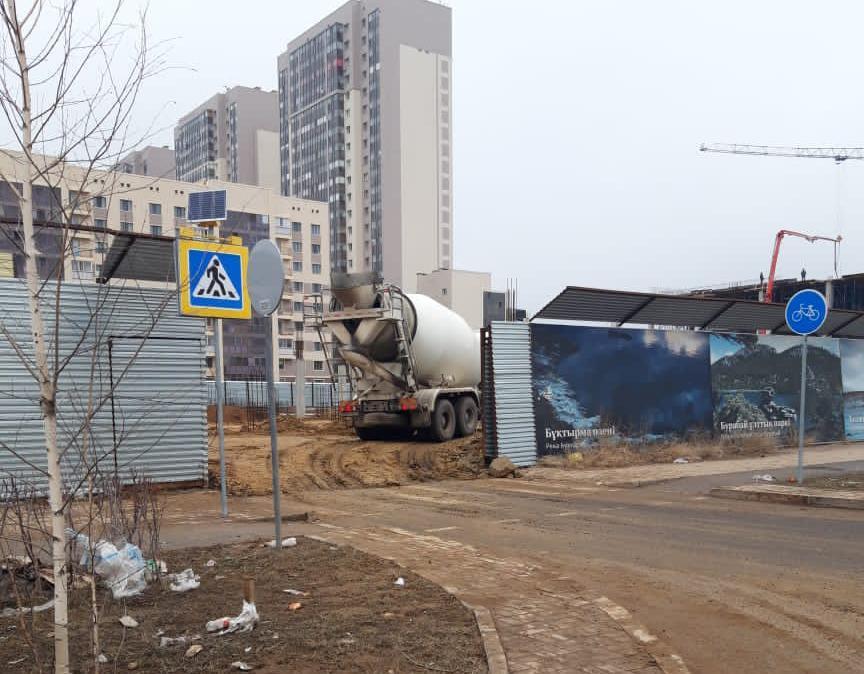 Приостановлены работы на нескольких стройках Нур-Султана