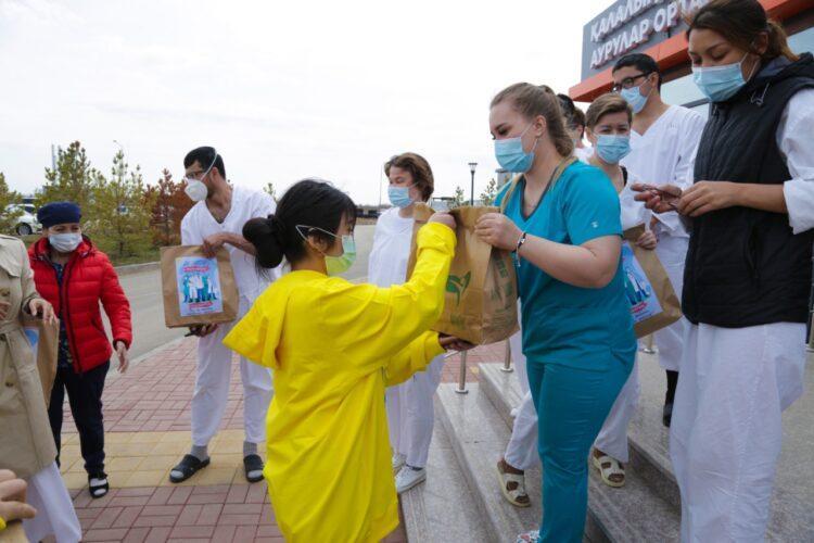 Инициированная Елбасы акция «Biz Birgemiz» переросла в волонтерское движение 1