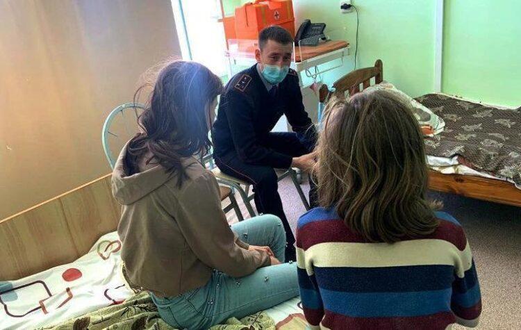 Полицейский спас от суицида 14-летнюю девочку в Акмолинской области 1