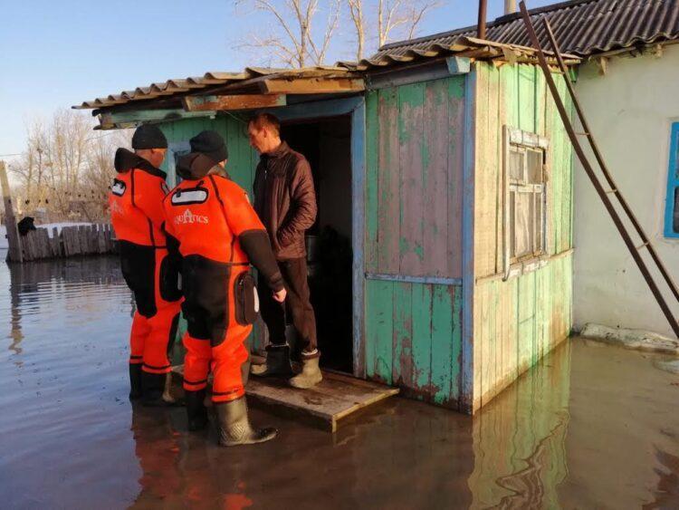 Эвакуация из-за подтопления 1