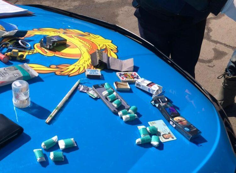 В Нур-Султане у 19-летнего прохожего изъяли 19 свертков с наркотиками 1