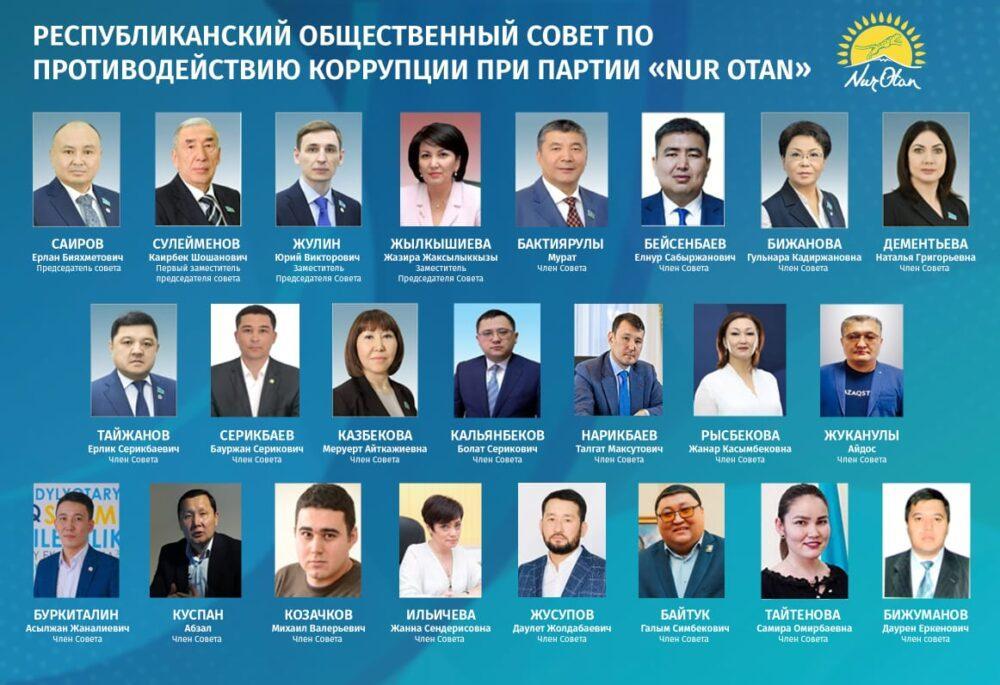 С коррупцией будем бороться всеми доступными способами – Ерлан Саиров о задачах обновленного совета Nur Otan 3