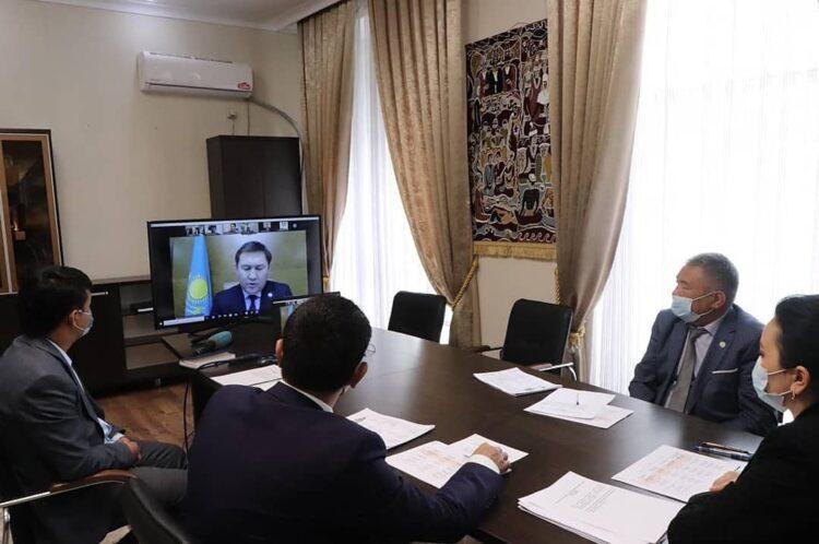 В Шымкенте состоялось Бюро Политического Совета филиала партии Nur Otan 1