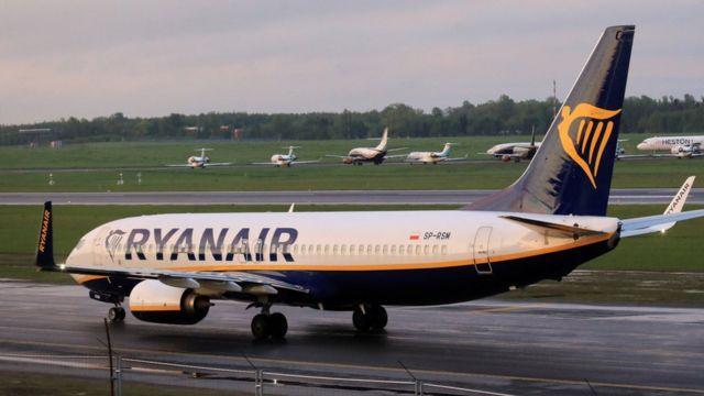Минск направил ноту протеста восьми странам из-за заявления по самолету Ryanair 1