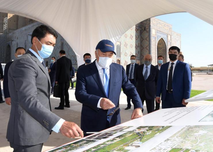 Елбасы о Туркестане: мы сделали то, о чем даже не могли мечтать 2